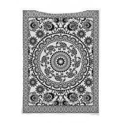 Ambesonne Elephant Circle Art Wall Hanging Tapestry 6228 40X