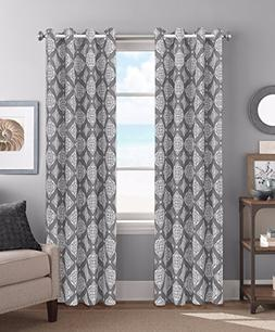 Colordrift Eliza 54 x 84 Inches Curtain with Grommet Finish