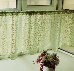 Embroidery Kitchen Curtain, Cafe Curtain, Dining Room Curtai