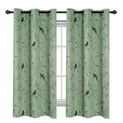 energy saving ultra soft casual kitchen curtains