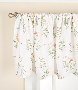 LORRAINE HOME FASHIONS English Garden Valance, 52 Inches x 1