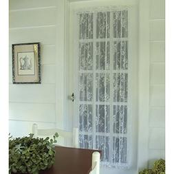 Heritage Lace English Ivy 48W x 36L in. Door Curtain Panel -