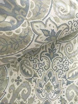 Envogue Pamela Damask Paisley Medallions Pair of Curtains 2