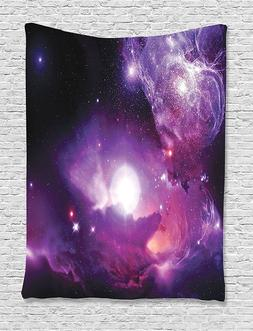 Ambesonne Fantasy Space Nebula  Art Wall Hanging Tapestry 13