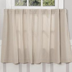 Piper Classics Farmhouse Ticking Stripe Taupe Tiers, Set of