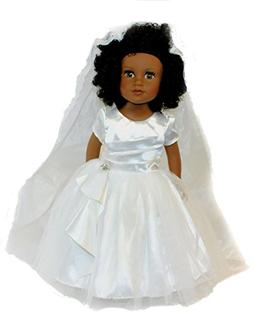 Arianna Fits American Girl 18 inch Doll - Tie The Knot Doll