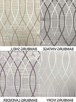 Flat Roman Shade In Bamburgh Design Pattern. Choice of 4 Mat