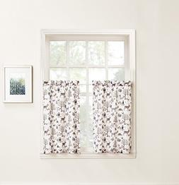 No. 918 Forest Friends Animal Kitchen Curtain Tier Pair, 56""