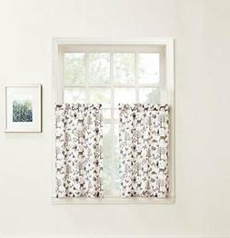 "Lichtenberg Forest Friends 56"" x 24"" Pair of Tier Curtains B"