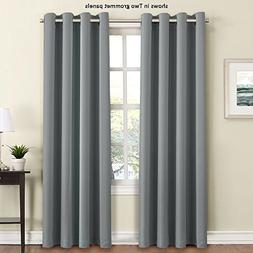 FlamingoP Functional Blackout Curtains for Bedroom, Thermal