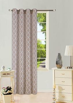 GorgeousHomeLinen  1 Pattern Design Voile Sheer Two-Tone Win
