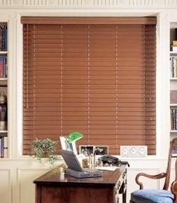 """Graber 2"""" faux wood blinds, horizontal wood blinds 72"""" wide"""
