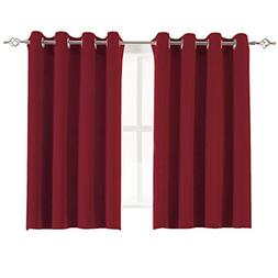 Aquazolax Grommet Blackout Curtains Readymade Solid Thermal