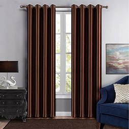 Dreaming Casa Grommet Top Solid Blackout Curtain Drapes Trea
