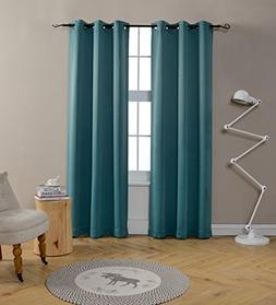95 Inch Long Blackout Curtains for Bedroom by MYSKY HOME Gro