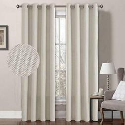 H.VERSAILTEX Classical Grommet Thermal Insulated Curtains 52