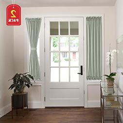 H.VERSAILTEX Patio Door Curtain Panels Window Treatment Room