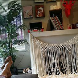 60 inch Handmade Macrame Yarn Hanging for Windows, Walls, He