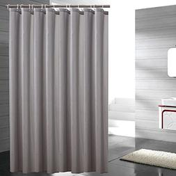 Lonniyl Heavy Weight Fabric Shower Curtain - Water Repellent