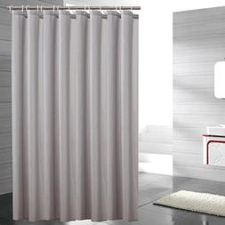 Sfoothome Heavy Weight Fabric Shower Curtain - Mildew Resist