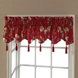 United Curtain Charlotte Floral Ascot Valance, 54 by 15-Inch