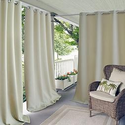 Elrene Home Fashions 20864ELR Connor Indoor/Outdoor Solid Gr