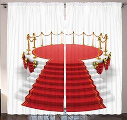 Home Decor Concert Theatre Stage Drapes Silver Gold Cafe Cur