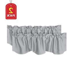 H.VERSAILTEX Home Decorative Thermal Insulated Scalloped Val