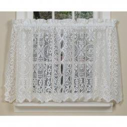 The_Curtain_Shop Hopewell Lace Kitchen Curtain - 24 Tier  -