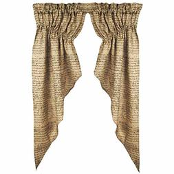 Home Collection by Raghu Indentured Burlap Black and Wheat G