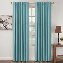 Turquoize Color Aqua Curtains Thermal Insulated Blackout Cur