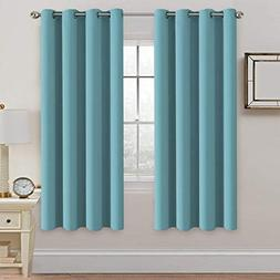 insulated thermal blackout long curtain