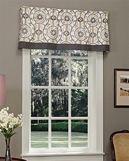 "Izmir Tailored Valance lined by Thomasville, 72""W x 16""L"