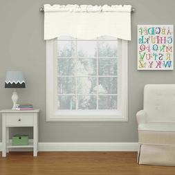 Eclipse Kendall Blackout Wave Curtain VALANCE, 18, White