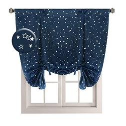 H.VERSAILTEX Kids Room Curtain Bright Stars Pattern Thermal