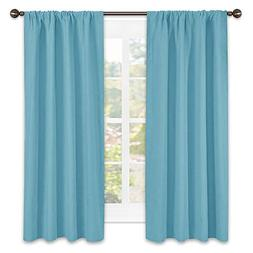 NICETOWN Kitchen Blackout Curtains Panels - Window Treatment