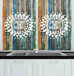 Ambesonne Kitchen Decor Collection, Quote You are My Sunshin