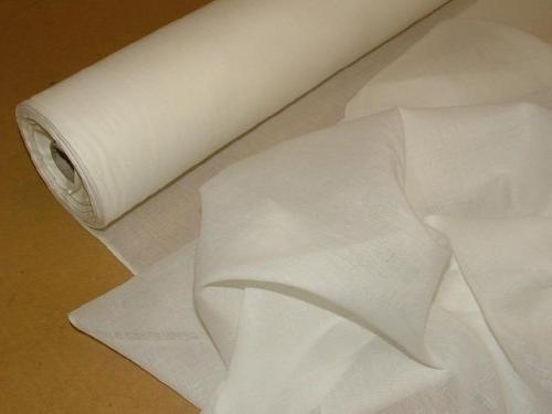 10 mts white cotton muslin