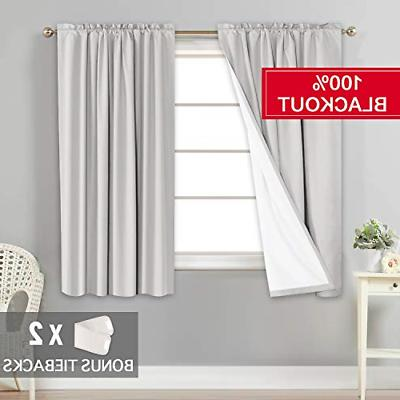 100 percent light blocking curtains drapes draperies