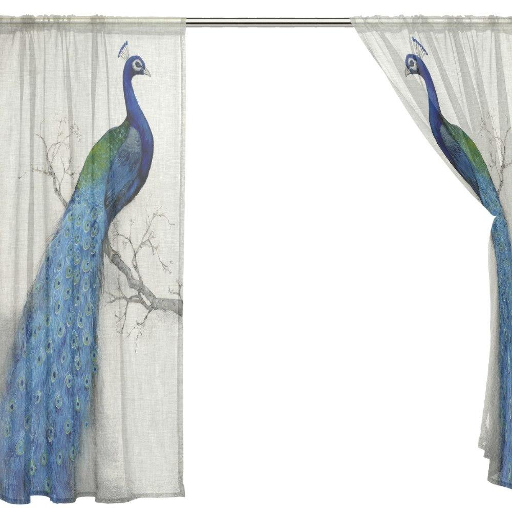 2018 Sheer for Rideaux Window <font><b>Curtains</b></font> Room
