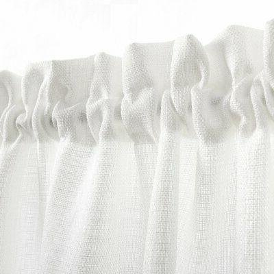 24 Tiers Semi Curtains Pocket Weave