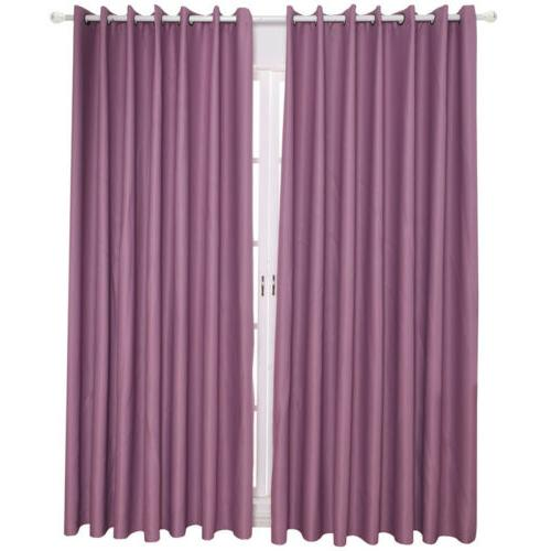 3 Layer Ring Thermal Insulated Window Curtain Bedroom Kitchen