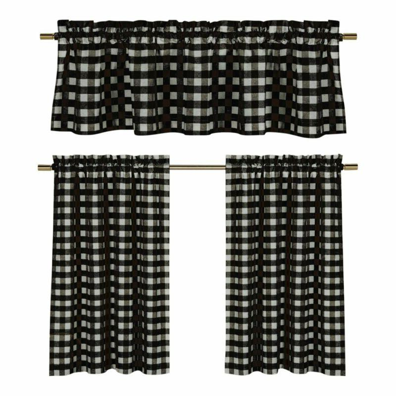 3 pc plaid country chic cotton blend