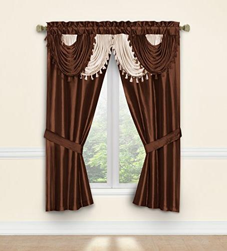 678298233693 amore window curtain set