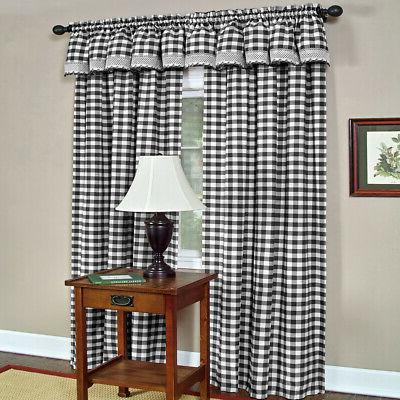 Kitchen Window Curtain Panel Valance Shade