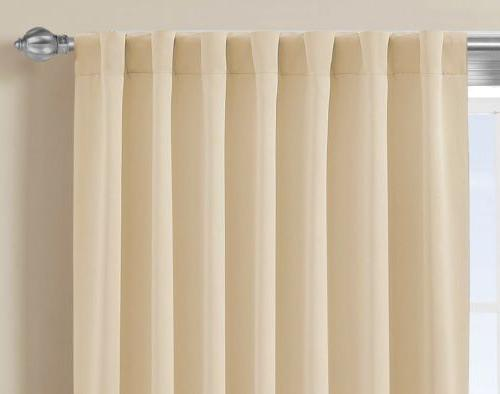 Chezmoi Collection Thermal Insulated Blackout Window Curtain