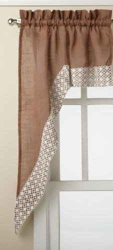 Lorraine Home Fashions Salem 60-inch x 38-inch Tailored Swag