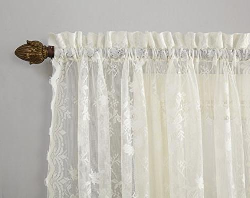 """No. Lace Curtain 58"""" x 84"""","""