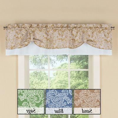 Paisley Pattern Curtain Window by Collections