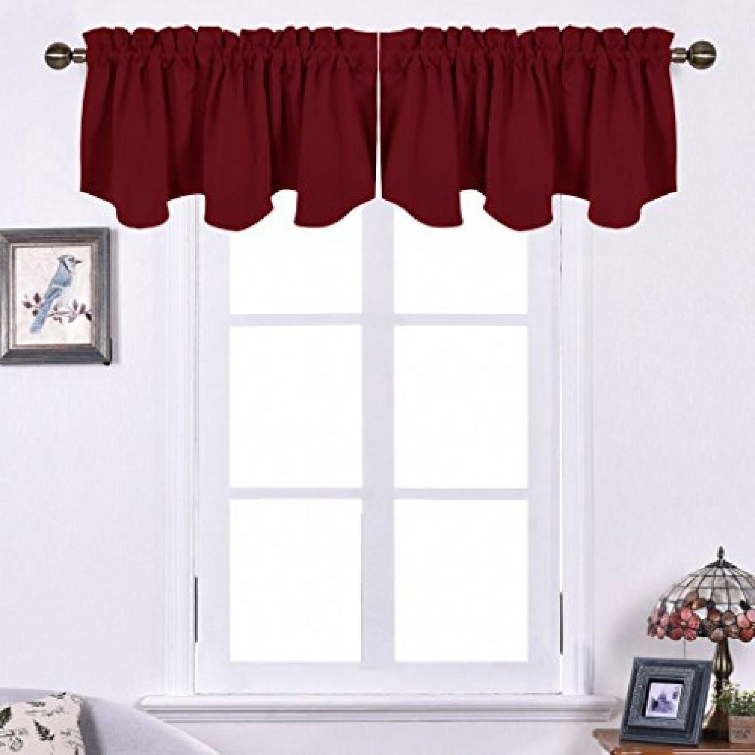 Scalloped Window Panels Curtains
